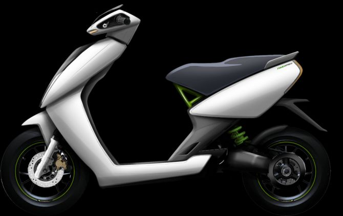 Athers Energy scooter