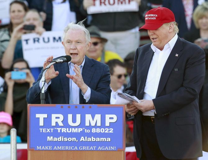 Trump's Attorney General in trouble over Russian connection