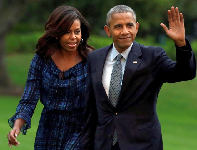 India News - Latest World & Political News - Current News Headlines in India - Michelle will never run for office, she's too sensible: Obama