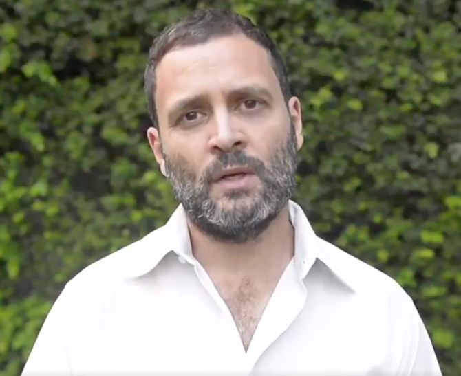India News - Latest World & Political News - Current News Headlines in India - Rahul Gandhi's Twitter account hacked, offensive tweets posted