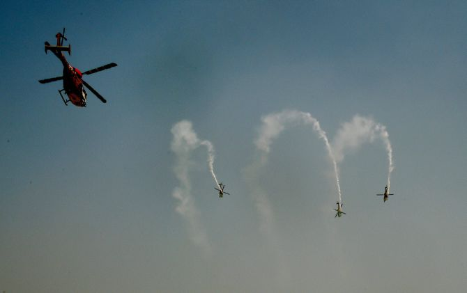 India News - Latest World & Political News - Current News Headlines in India - PHOTOS: 84th IAF Day celebrations showcase Tejas