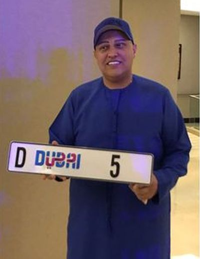Image result for Indian Businessman Balwinder Sahani Buys Most Coveted Car Number Plate 'D5' For $9 million