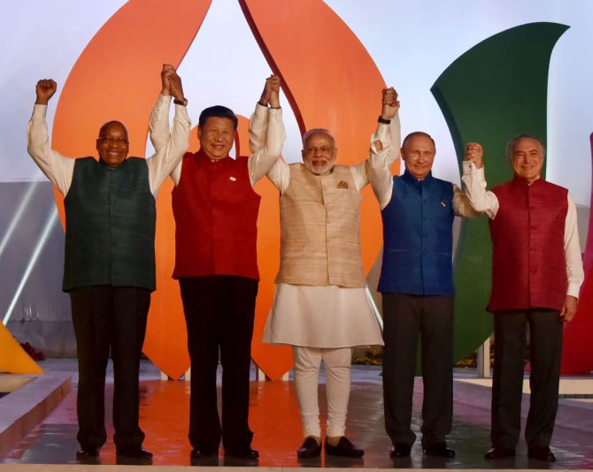 India News - Latest World & Political News - Current News Headlines in India - PHOTOS: BRICS leaders gather in Goa