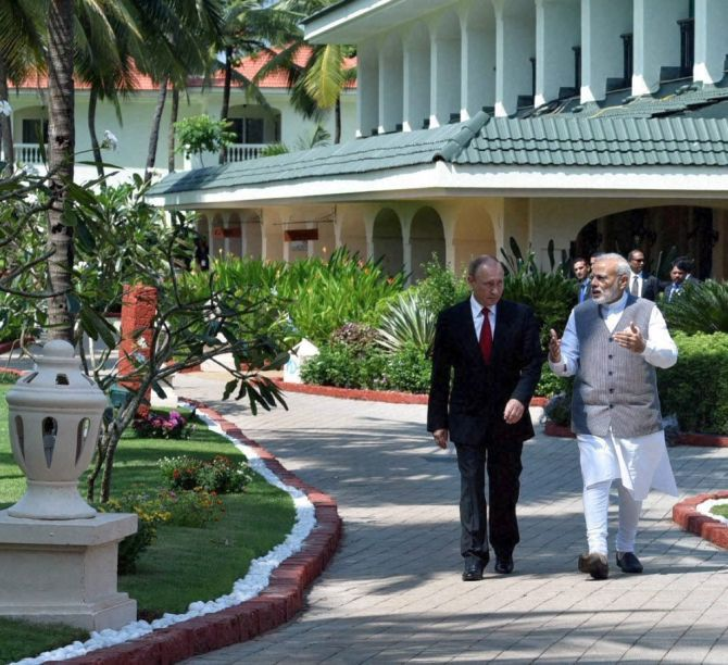 India News - Latest World & Political News - Current News Headlines in India - 'Old friend is better than 2 new friends': India, Russia sign 16 key pacts in Goa