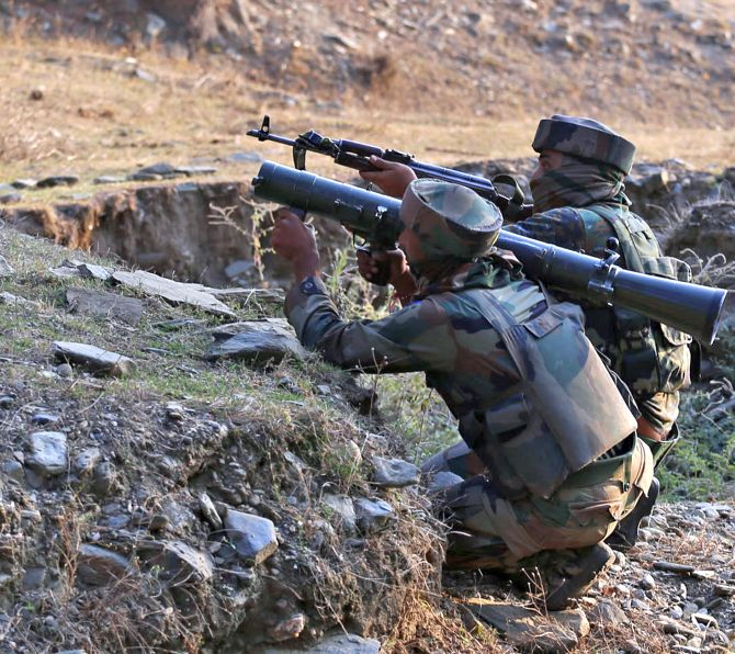 Indian soldiers open fire across the Line of Control in Jammu and Kashmir