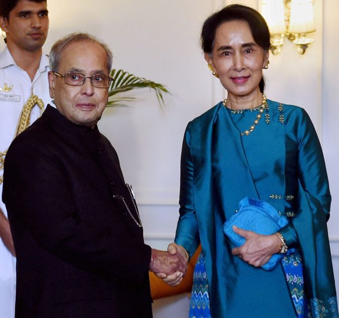 India News - Latest World & Political News - Current News Headlines in India - Every time I come to India I realise how close we are: Aung San Suu Kyi