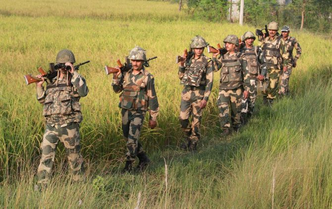 BSF commanders told to spend 25 nights/month at border