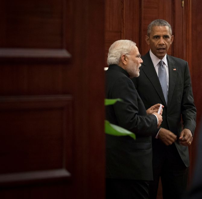 India News - Latest World & Political News - Current News Headlines in India - PHOTOS: In China, Modi reunited with 'bestie' Obama