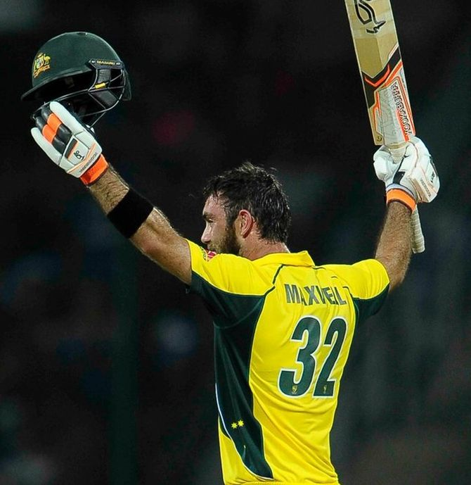 Rediff Sports - Cricket, Indian hockey, Tennis, Football, Chess, Golf - Maxwell back on the big stage to push credentials for India