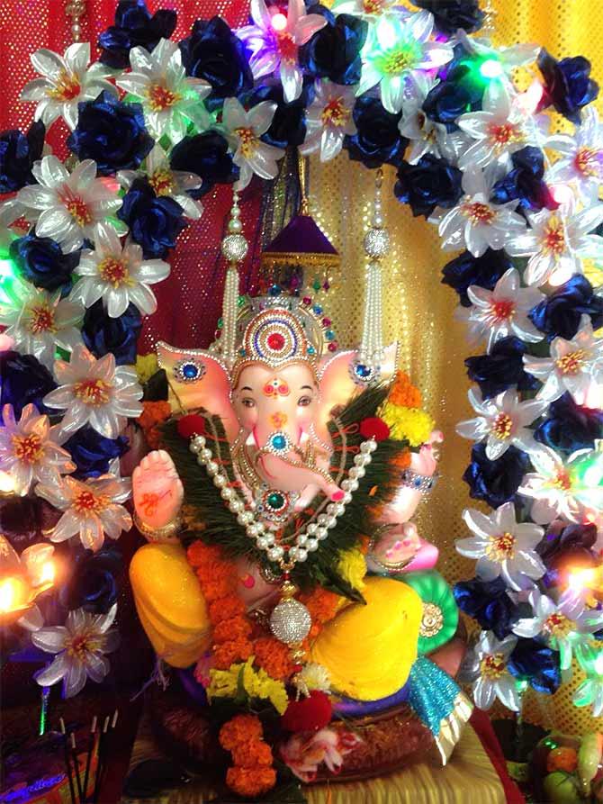 ganpati bappa morya readers share photos of their lord rediff com