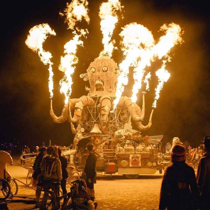India News - Latest World & Political News - Current News Headlines in India - Burning Man: It's the freakiest festival EVER!