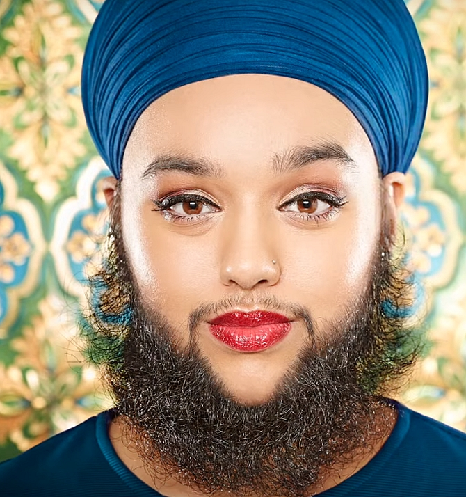 Anti Bullying Activist, Body Image Activist And Catwalk Model Harnaam Kaur  Of Slough, United Kingdom, Has A Fascinating Story To Tell.