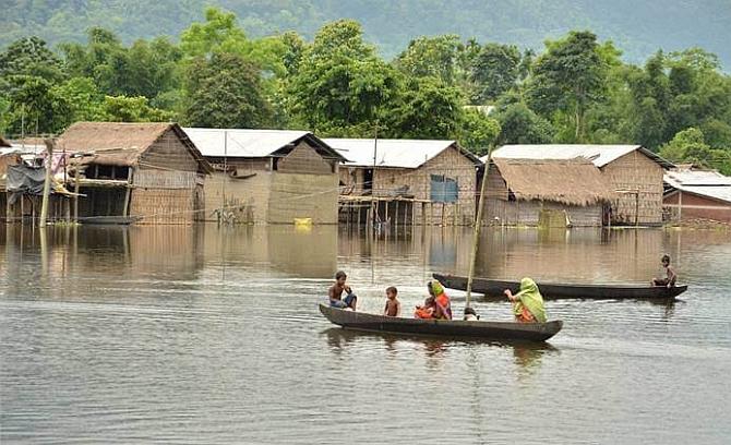 majuli becomes first island district of india rediff com india news