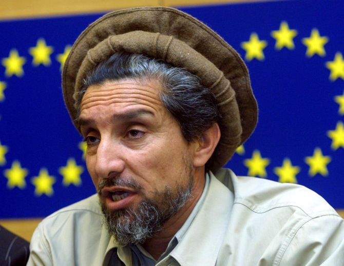 Ahmad Shah Massoud. Photograph: Reuters