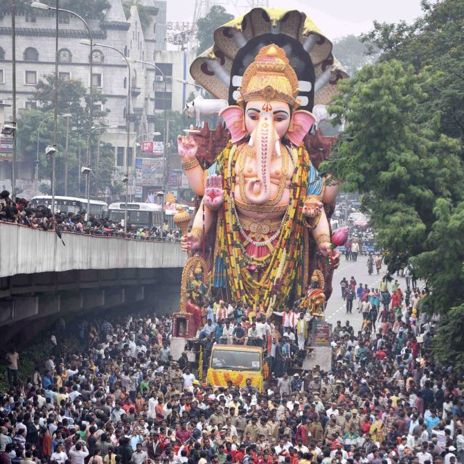 India News - Latest World & Political News - Current News Headlines in India - PHOTOS: Bye Lord Ganesha, we will miss you!