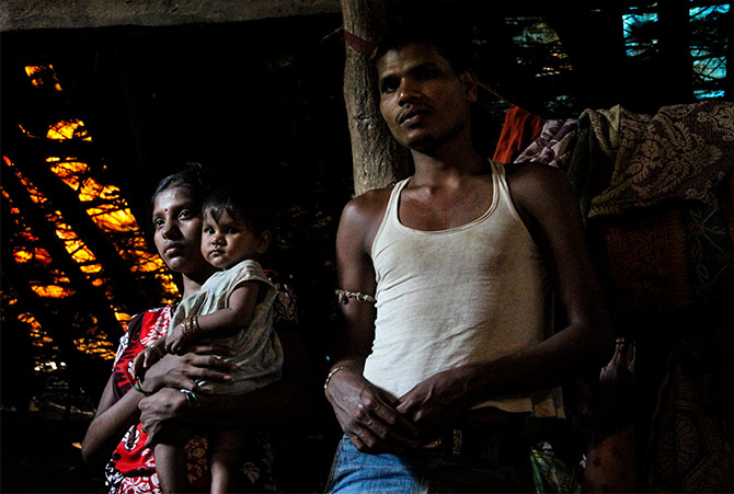 The lady who made a sensation by confronting Tribal Welfare minister Vishnu Sawra and helped highlight the tragedy unfolding in Mumbai's backyard, is shy to the tee. Sita, contrary to her frail being, is one gutsy woman who took her seriously ailing son Sagar to Nashik for emergency medical care. Unfortunately, she could not save her son, who died within three hours of being admitted in Nashik Civil Hospital