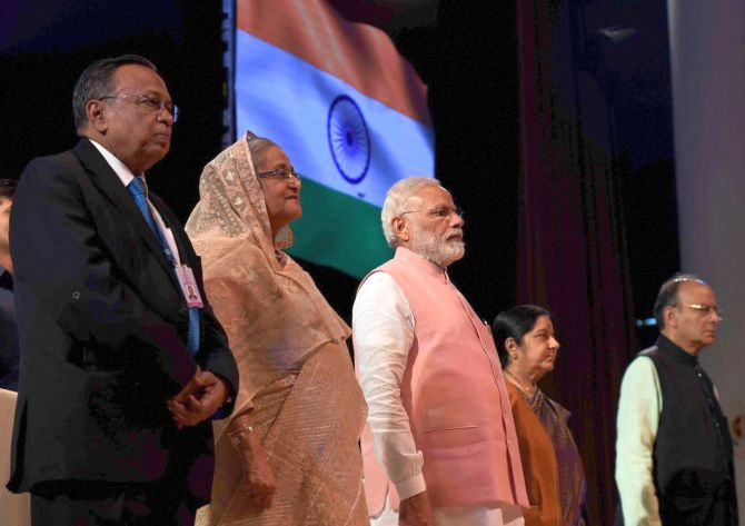 PM sends robust message to Pakistan: &#039Shun terror for friendship&#039