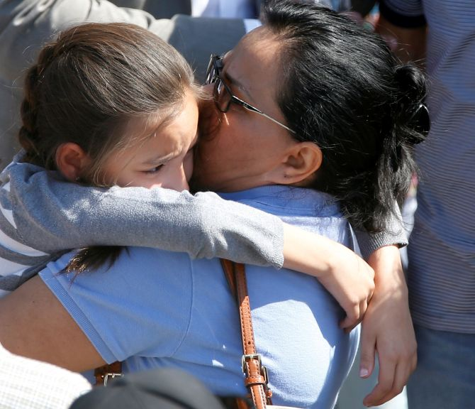 Male And Female Gunmen Kill Classmates And Injure Eight At: Teacher, Student Killed In US School Shooting