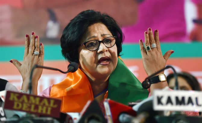 India News - Latest World & Political News - Current News Headlines in India - Former Delhi Women Congress chief joins BJP