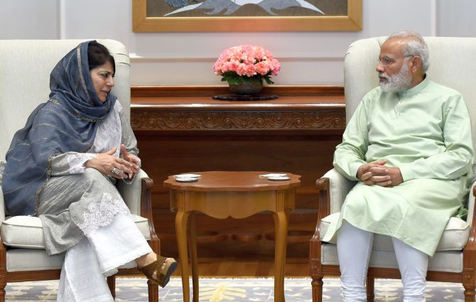 India News - Latest World & Political News - Current News Headlines in India - PM open to talks once normalcy restored in Kashmir: Mehbooba