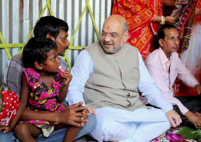 India News - Latest World & Political News - Current News Headlines in India - Lotus will bloom, says Shah in Naxalbari
