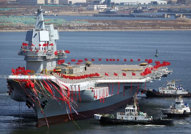 India News - Latest World & Political News - Current News Headlines in India - China launches first domestically-built aircraft carrier