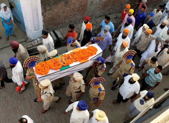 India News - Latest World & Political News - Current News Headlines in India - Nation bids tearful farewell to Sukma martyrs
