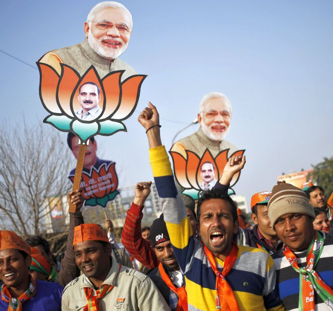 India News - Latest World & Political News - Current News Headlines in India - BJP's Delhi win will send a message to Gujarat, Himachal