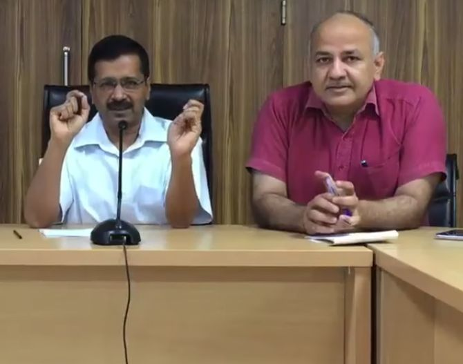 India News - Latest World & Political News - Current News Headlines in India - 'If you betray AAP, you betray God': Kejriwal to AAP councillors