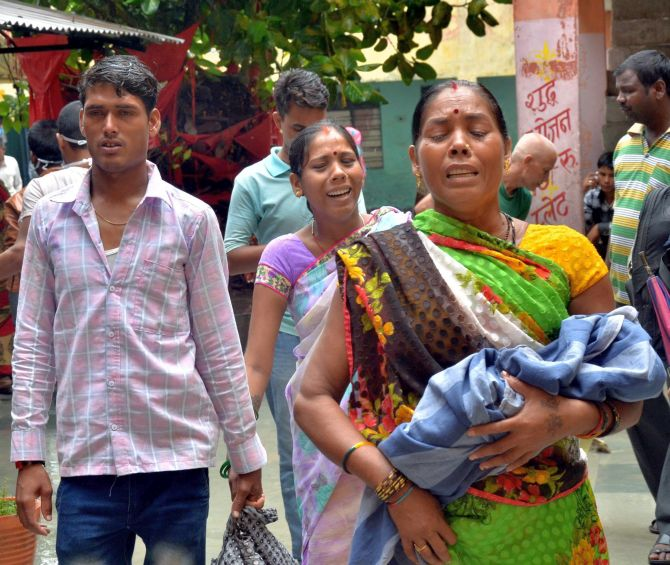 Image result for gorakhpur child death news