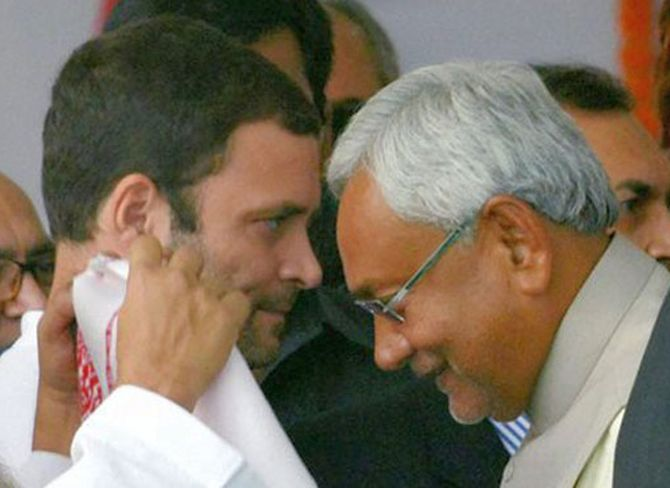 India News - Latest World & Political News - Current News Headlines in India - Rahul's 'non seriousness' broke up Bihar's Grand Alliance