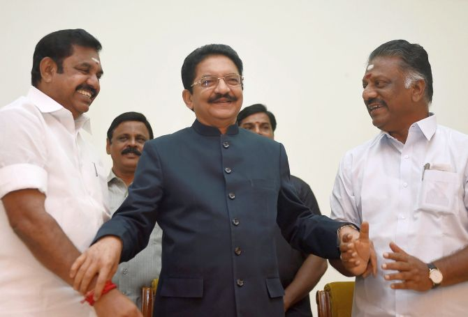 Decoding BJP's haste to gain in Tamil Nadu - Rediff com India News