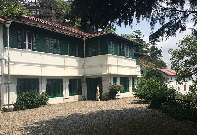 The Jind House in Mussoorie