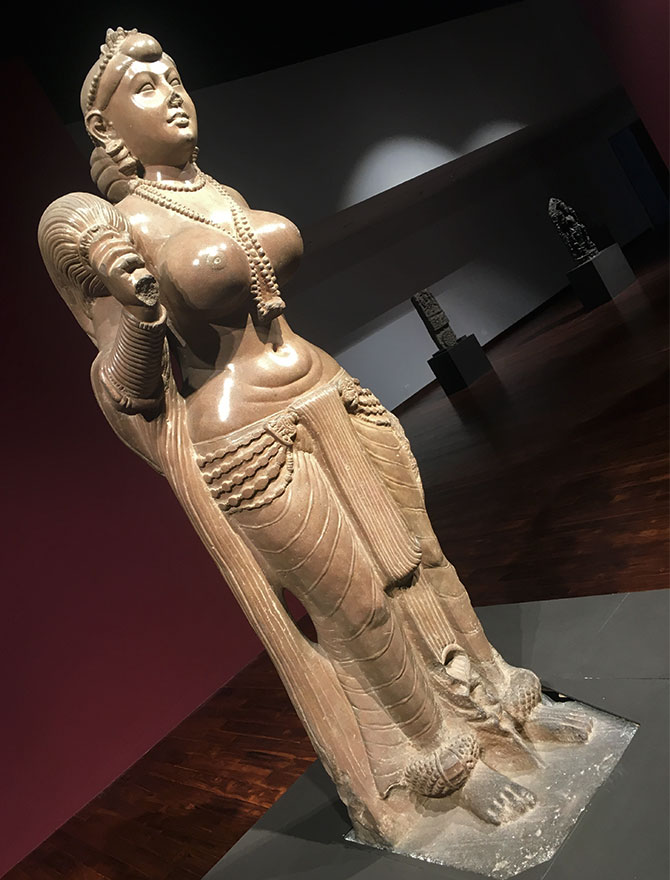 Yakshi, prized possession of the museum