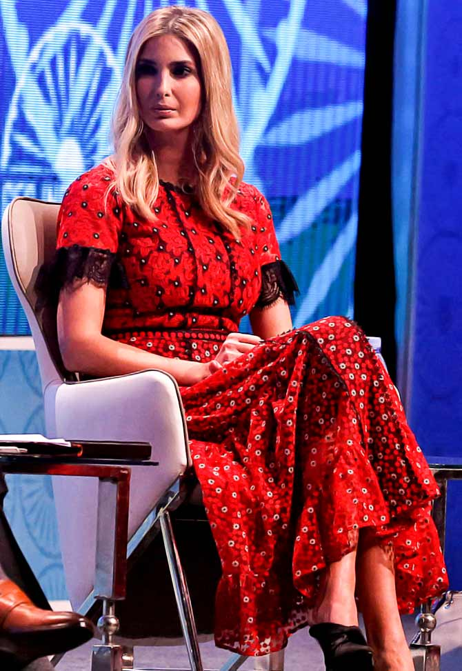 Vote Do You Love Ivanka S Outfits Or Hate Them Rediff