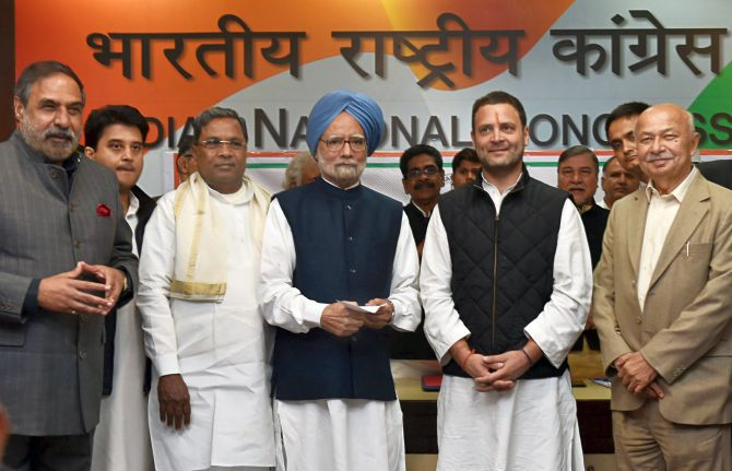 India News - Latest World & Political News - Current News Headlines in India - Rahul constitutes CWC, several veterans dropped