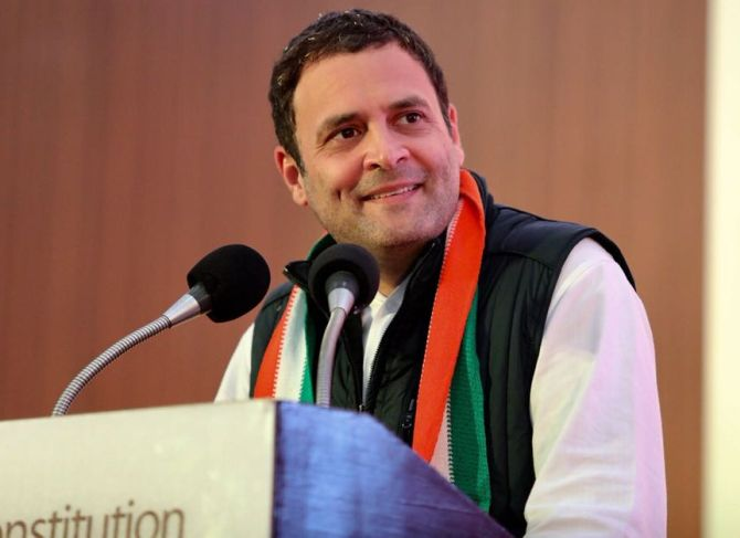 India News - Latest World & Political News - Current News Headlines in India - Row erupts over Rahul's TV interviews; EC issues notice for flouting poll code
