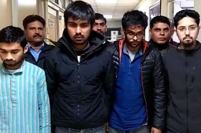 DU, JNU students arrested in New Year drugs bust - Rediff com India News