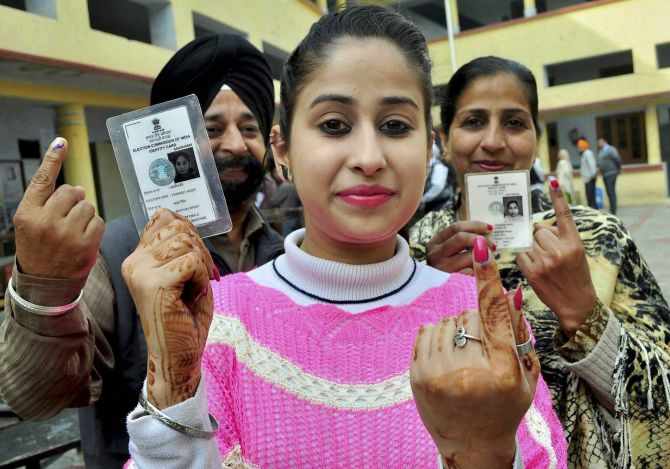 75% voter turnout in Punjab; skirmishes at some places