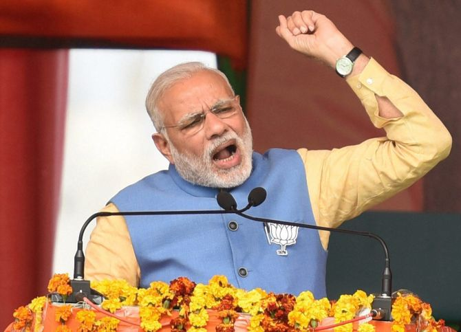 Only BJP can reinstate Uttarakhand's dignity: Modi in Haridwar