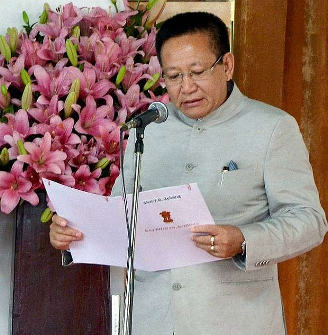 India News - Latest World & Political News - Current News Headlines in India - Has Nagaland CM Zeliang resigned?