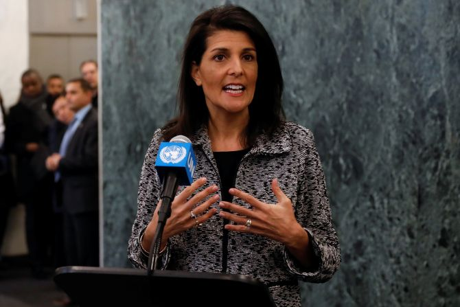 India News - Latest World & Political News - Current News Headlines in India - US supports two-state solution, thinking out of the box: Haley