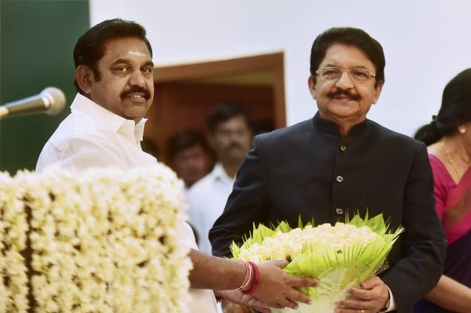 India News - Latest World & Political News - Current News Headlines in India - EPS meets Guv; MLA alleges threat from DMK