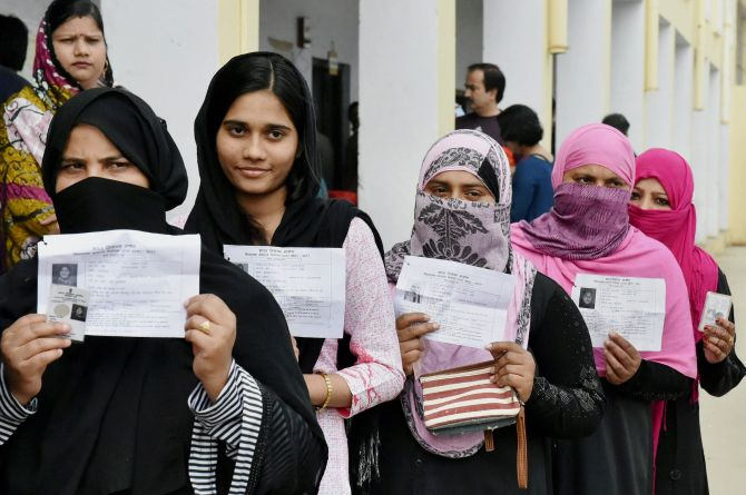 Voting in UP Phase 3 ends with 61% turnout
