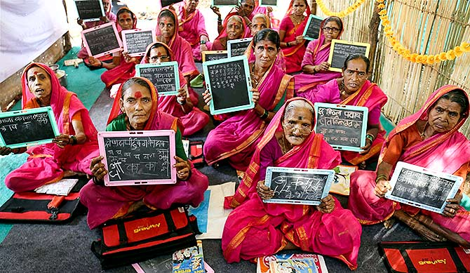 India News - Latest World & Political News - Current News Headlines in India - PHOTOS: These grandmas are going back to school!