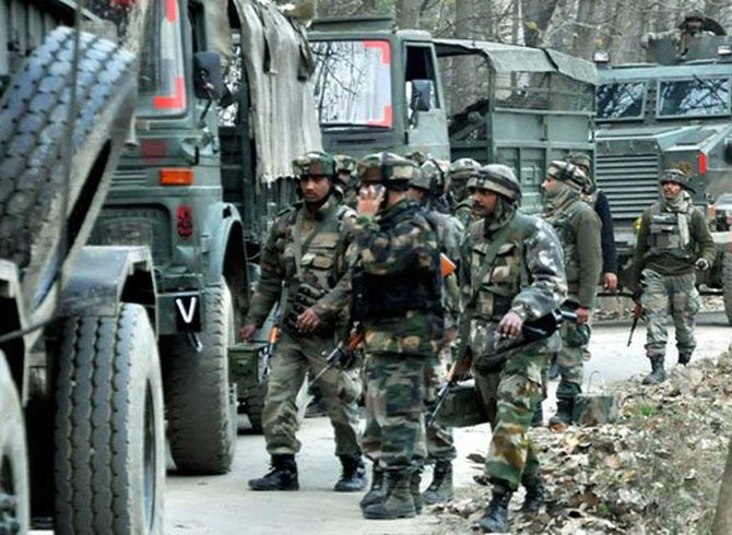 India News - Latest World & Political News - Current News Headlines in India - 3 soldiers, civilian killed as terrorist ambush army convoy