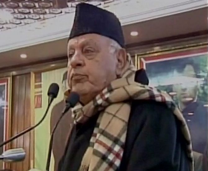 India News - Latest World & Political News - Current News Headlines in India - Farooq Abdullah calls Kashmiri militants 'boys fighting for freedom'