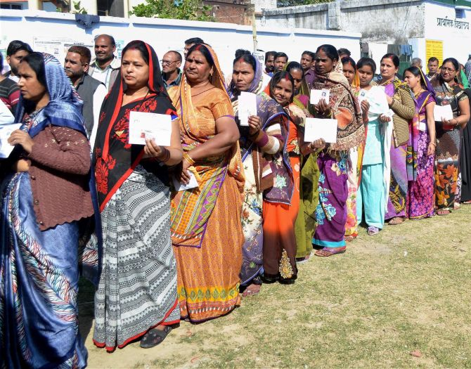 UP sees 57.36 per cent voter turnout in fifth phase of elections