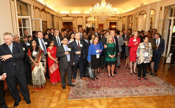 Governors Reception Indian Embassy