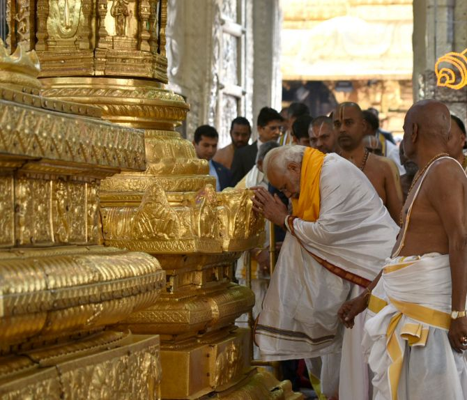 India News - Latest World & Political News - Current News Headlines in India - Tirupati: Darshan at Lord Venkateswara temple stopped for 6 days